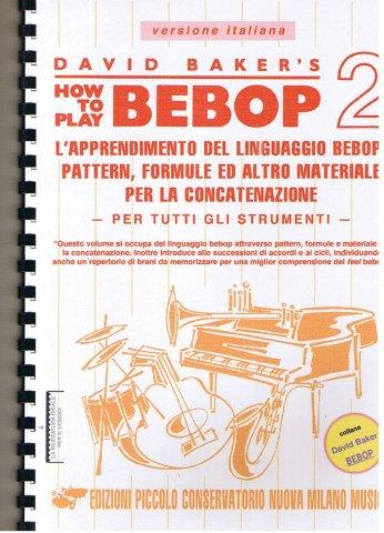 how to play bebop david baker pdf