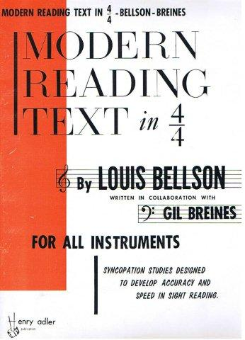 Louis bellson modern reading text