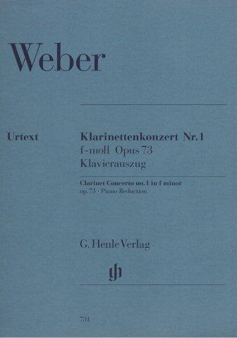 Weber Concerto No1 In F Minor Op73 Stamitz Concerto No3 In B Flat For Clarinet Bk2CD Music Minus