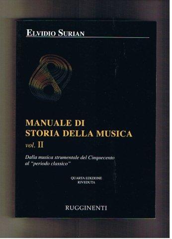 Cesare Valabrega Storia Della Musica Italiana